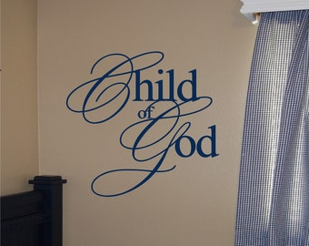 Child of God - Vinyl Wall Decal
