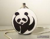 PANDA BEAR PENDANT  by SIMPLYCHARMING