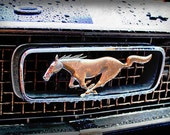 RESERVED for JACKIE -1966 Ford Mustang Pony Emblem