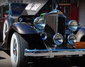 1933 Packard Super 8 - Antique Car - Packard - Garage Art - Pop Art - Fine Art Photograph