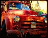 Big Joe - Rusty Truck - Dodge - Fine Art Photograph by Kelly Warren