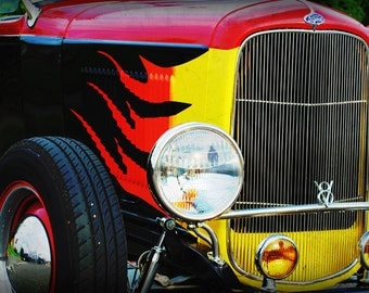 1931 Ford Hotrod - Classic Car - Pop Art - Fine Art Photograph by Kelly Warren