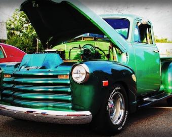 1947 Chevrolet Truck - Classic Truck - Garage Art - Pop Art - Fine Art Photograph