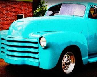 1952 Classic Chevy Truck - Classic Truck - Garage Art - Pop Art - Fine Art Photograph
