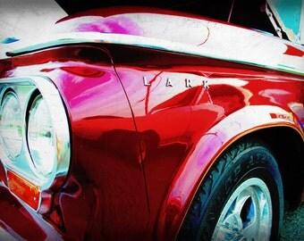 1963 Studebaker Lark - Classic Car - Garage Art - Pop Art - Fine Art Photograph
