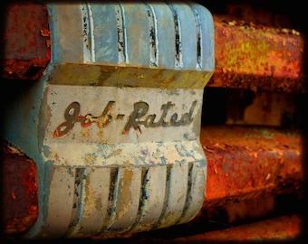 Big Joe's Message - Rusty Truck - Fine Art Photography