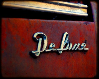 Jenny's Deluxe Take One - Rusty Car - Fine Art Photograph
