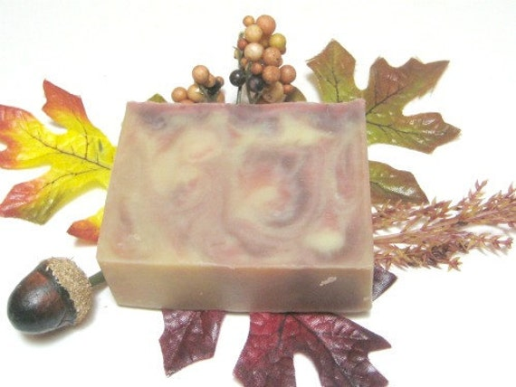 Apple Cider Soap - Vegan with luxurious creamy lather - Fall Favorite cold process soap, Limited Edition only here for Autumn