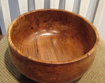 Handturned Spalted Maple Bowl