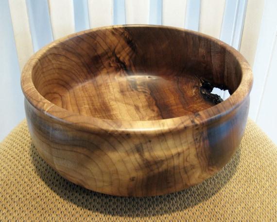 Hand Turned Myrtle Wood Bowl