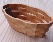 Basket Oval Small Handmade