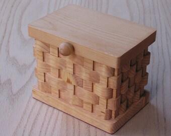 Trinket/Keepsake Box Large Handmade