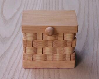 Trinket/Keepsake Box Small Handmade
