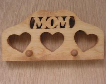 Key Holder Mom Handmade