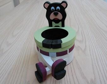 Bear Basket New Design Handmade