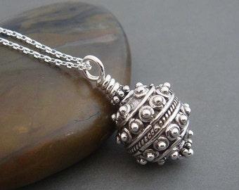 Starburst Sterling silver necklace. Wire wrapped silver necklace, Sterling silver jewelry , gift for her