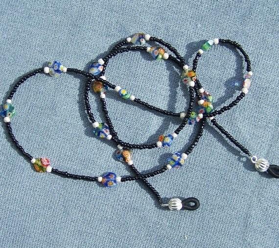 FREE S&H -  Beautiful Eyeglass/Badge Lanyard - A JewelryArtistry Original - L69