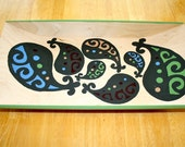 Paisley Painted Tray