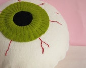Large Olive Eye Plush
