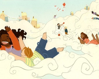 illustration: what if... you could live in the clouds