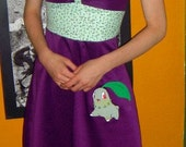 Chikorita Pokemon Dress