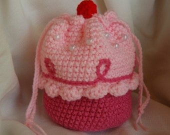 Pinkalicious Style Cupcake Purse