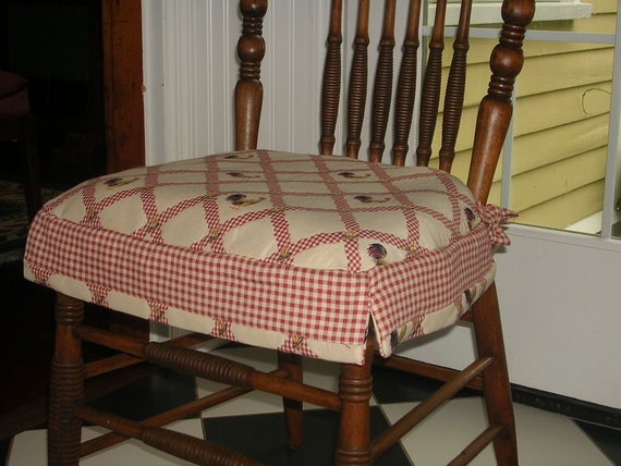 Items Similar To Slipcovers For Chair Cushions Country