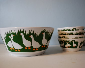 Waechtersbach Ducks Bowl Set