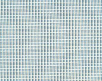 SALE Denyse Schmidt fabric, Mill Plain in blueberry, Greenfield Hill, fat quarter, supply
