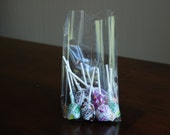 "Crystal Clear Gusseted Cello Bags - 4"" x 2 1/2"" x 9 1/2"" (Set of 20)"