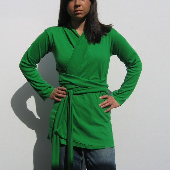Misses Kelly Green Sweater 85