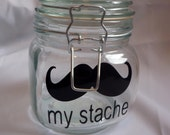 My Stache Mustache VINYL decal
