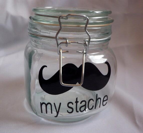 My Stache Mustache VINYL decal