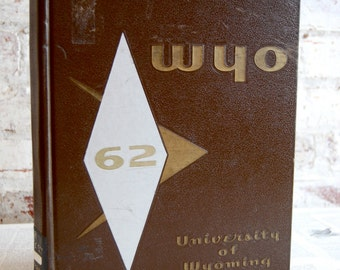Vintage Yearbook, University of WY 1962