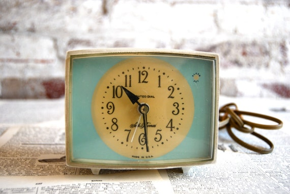 Retro Seth Thomas Alarm Clock