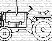 Digital Stamp - Tractor