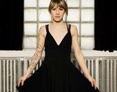 Comfortable black dress