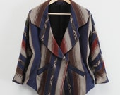 Alex Aztec Pattern Coat