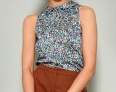 Pixie's pleat blouse