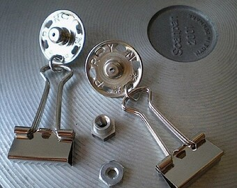 Fasten-ating - industrial hardware earrings