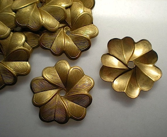 12 brass mirror rosettes, No. 5 steampunk buy now online
