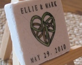 Save The Date Magnets, Celtic Intertwining Heart, Set of 60