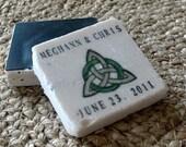 Celtic Knotwork Wedding Favors, Save The Date Magnets,Set of 50