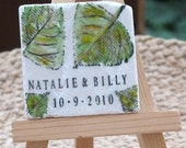 Fall Leaves Save the Date Magnets or Wedding Favors, Set of 25