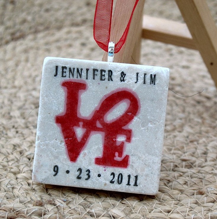 Love Ornament Wedding Favors Set Of 25 Just A Little Wedding
