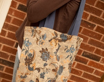 Gusset tote - 411