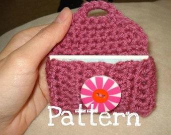 Crochet Pattern - Keychain Business Card Holder