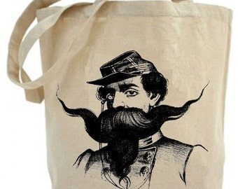 Eco friendly ... classy  Mustache Man...