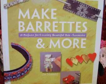 Make Barrettes and More - Book 1997