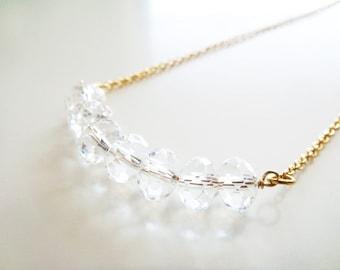 Morning Light Necklace - Austrian Crystals